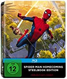 Spider-Man Homecoming Steelbook (PopArt) (exklusiv bei Amazon.de) [Blu-ray]