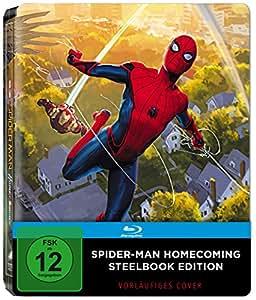 Spider-Man Homecoming Steelbook (PopArt) (exklusiv bei Amazon.de) [Blu-ray] [Limited Edition]
