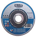Tyrolit 41disco de corte recto, conexión de tejido, medidas 115x 1,6x 22,23, VE: 15unidades, 1unidades, 34019872