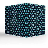 "NISH! Blue Tea Light Candle Holder | Acrylic Tea Light Candle Holder (Transluscent Acrylic, Small - 3.5"" Cube, 1 Piece) - B0754CNL11"