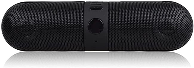 Konarrk Wireless Bluetooth Stereo Pill Speaker KK-FPHILL-BT-SPK for Android & iOS Devices (Color May Vary)