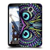 Head Case Designs Gufo Facce Di Animali Aztechi Cover Retro Rigida per Motorola Nexus 6 / Nexus X