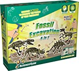 Science4you 4-in-1 Fossil Excavation Game Educational Science Toy STEM Toy