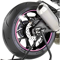 Adhesivos para Llantas Moto Yamaha MT-09 Tracer rosa