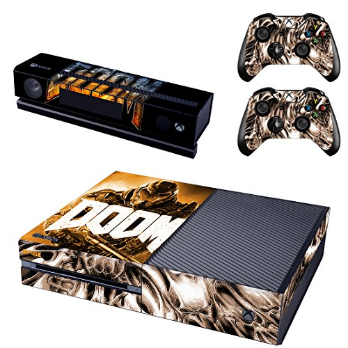 DOOM STYLISH DESIGN FOR XBOX ONE KINECT AND CONTROLLER by SkinTrade