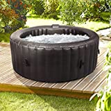 Wido Round Inflatable Spa Hot Tub 300 Air Jets 4 Person Quick Heating