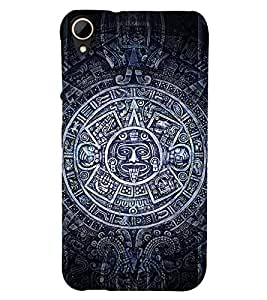 EPICCASE mayan symbol Mobile Back Case Cover For HTC Desire 828 (Designer Case)