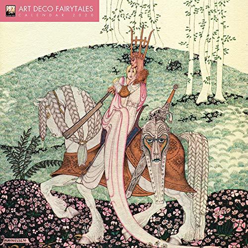 Art Déco Fairytales – Der traumhafte Art Déco 2020: Original Flame Tree Publishing-Kalender [Kalender] (Wall-Kalender)