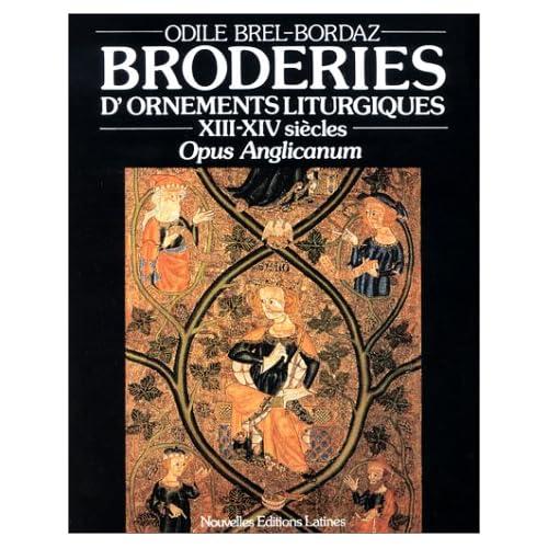 Broderies d'ornements liturgiques