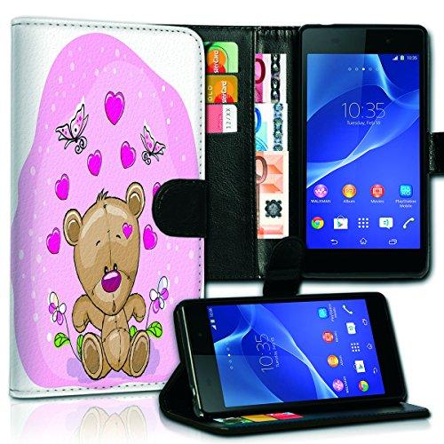 Wallet Book Style Flip Handy Tasche Case Schutz Hülle Schale Motiv Etui für Apple iPhone 6 Plus / 6S Plus - Variante UMV19 Design12 Design 12