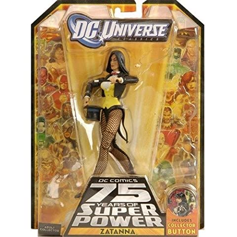 DC Universe Classics Series 14 Exclusive Action Figure Zatanna Build Ultra Humanite Piece! by DC Comics