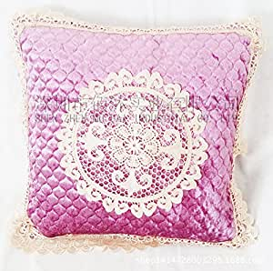 wasser lotus bestickte kissen kissen kissen 2 k che haushalt. Black Bedroom Furniture Sets. Home Design Ideas