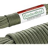 GardenMate Paracord 550Utility cuerda verde oliva 31m 7Core Strands