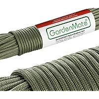 GardenMate® Professionelles Nylon Outdoor-Seil I 31m lang 4mm dick I VERSCHIEDENE FARBEN I Paracord 550 I Kernmantel-Seil aus 7 Kernfäden aus reißfestem Nylon