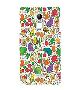 PrintVisa Designer Back Case Cover for Coolpad Note 3 (casual limitles lingires combo western)