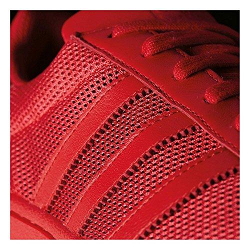 Sneaker Superstar Da Uomo Adidas, Blu, 38 Rosso