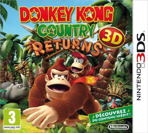 Donkey Kong Country Returns - Nintendo 3DS - [Edizione: Francia]
