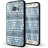 Galaxy S7 Edge Coque,Lizimandu 3D Motif Tpu Silicone Gel Étui Housse Protection Shell Cover Case Pour Samsung Galaxy S7 Edge(éléphant/Elephant)