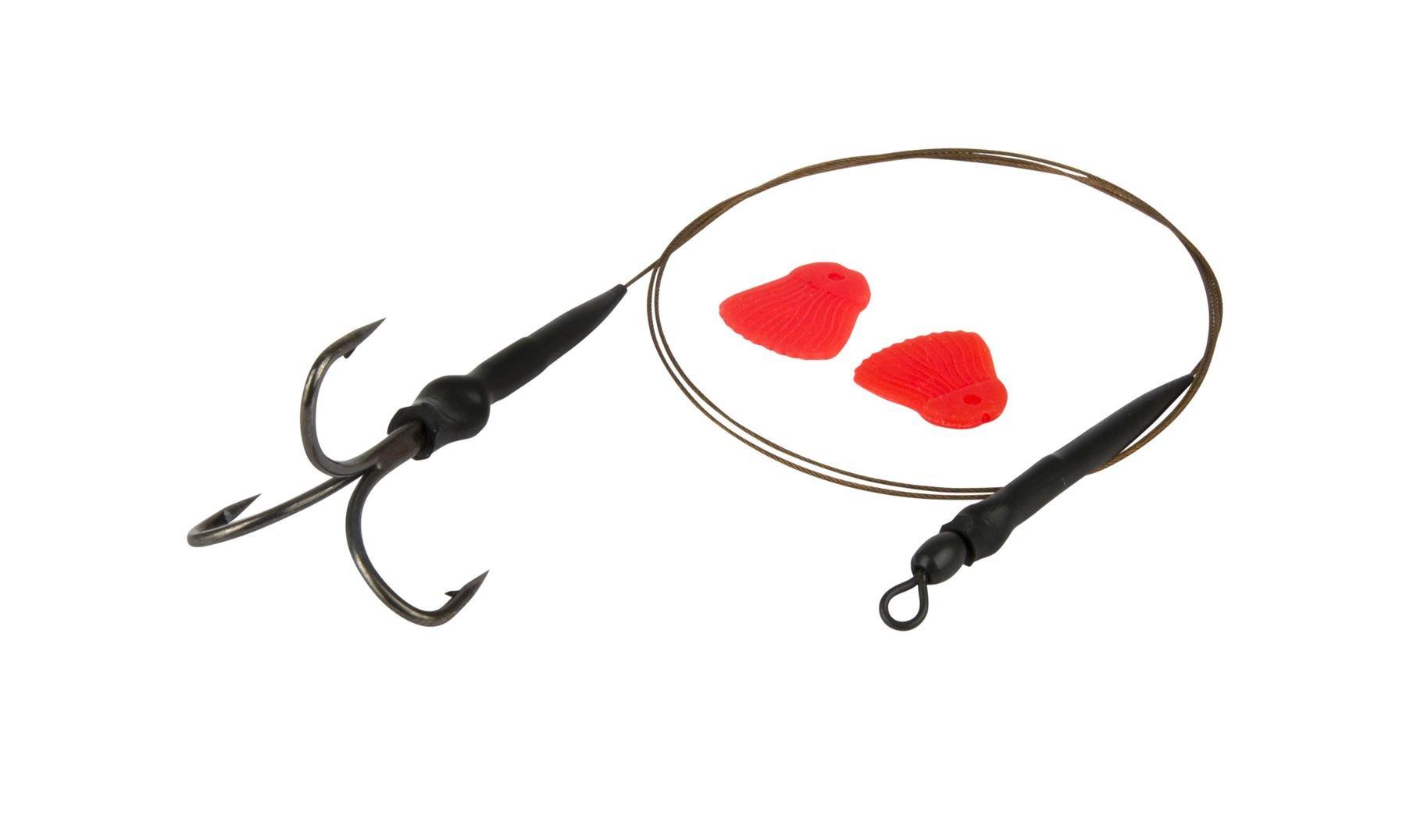 Fox Predator Treble Hook Sleeves Pike Fishing All Sizes