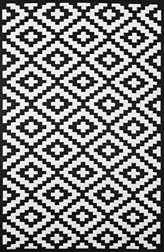 green-decore-70-x-180-cm-nirvana-interieur-exterieur-leger-tapis-ecologique-reversible-noir-blanc