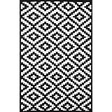 suchergebnis auf f r teppich schwarz wei. Black Bedroom Furniture Sets. Home Design Ideas