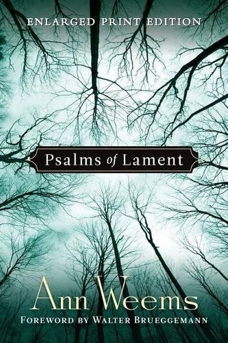 Psalms Of Lament Large Print Edition