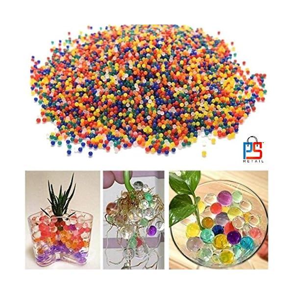 BHOOLU&GOOLU Crystal Soil Water Beads (Multicolor)