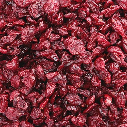 Preisvergleich Produktbild 1kg Cranberries getrocknet - Aromatische Cranberries ungezuckert und mit Ananasdicksaft gesüßt als leckere Zugabe zum Müsli