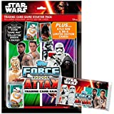 TOPPS Starter pack cartas coleccionables Star Wars Episodio VII
