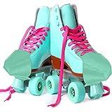 OTentW Rolschaatsen, leer, rolschaatsen, straat, skaten, platte kap, beschermers, leren kap, wakkere leren kap wakker