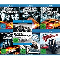 Fast and the Furious 1 - 7 Collection