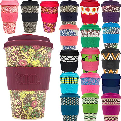 LS-LebenStil Bambus Coffee to Go Becher 400ml Seaweed Ecoffee Cup