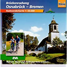 Osnabrück-Bremen: Rawanderführer Massstab 1:50000