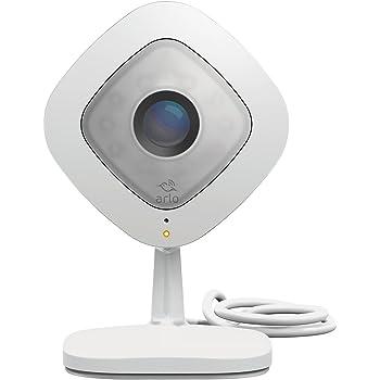 Arlo VMC3040-100PES Telecamera di Sicurezza Wifi, Alimentata Via Cavo per Registrazioni 24/7, Visione Notturna, Funziona con Alexa e Google Wifi