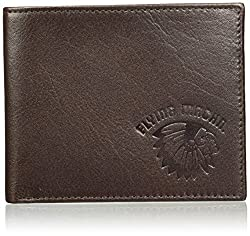Flying Machine Dark Brown Mens Wallet (FMAW0223)