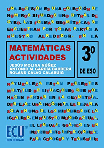 Actividades de matemáticas. 3º ESO por Roland Calvo Calabuig