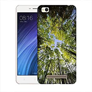 Snoogg Tall Trees Designer Protective Back Case Cover for Xiaomi Redmi 4A