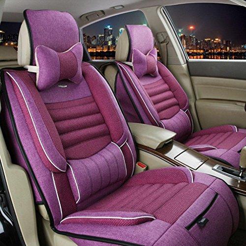XH Reine Natürliche Leinen Umgeben Von Gesundheit Auto Kissen Sets , Pink,pink (Metall-traktor-sitz-stuhl)