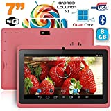 Tablette 7 pouces Bluetooth Quad Core Android 5.1 Lollipop 8Go Violet