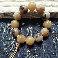 Mayanyan Natürliche Yak Horn Perlen Runde Perle Vento Herren Hand Serie
