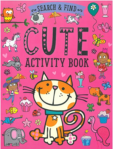 Search and Find: Cute Activity Book