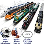AUSINI-di-marca-Treno-Set-con-2-carrozze-operaio-passengers-e-guide-25710