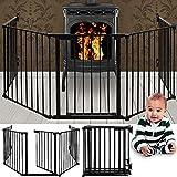 Grille de cheminée- protection pour enfants- dimension: 310 cm - 15 kg