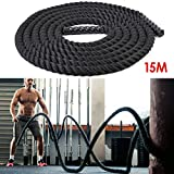 amzdeal Battle Rope Trainingsseil 9
