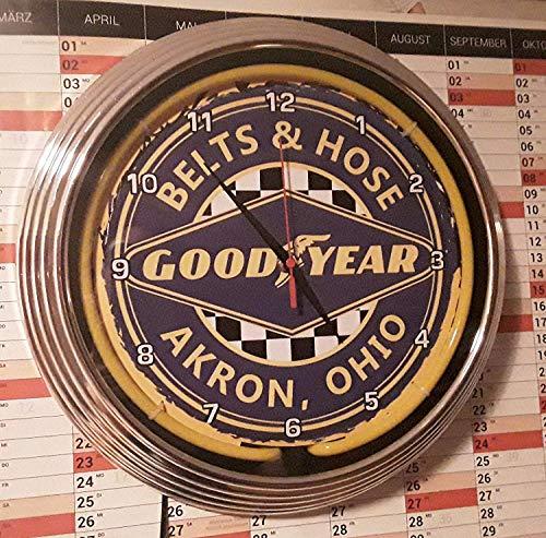 Zoom IMG-1 neon orologio goodyear acron ohio