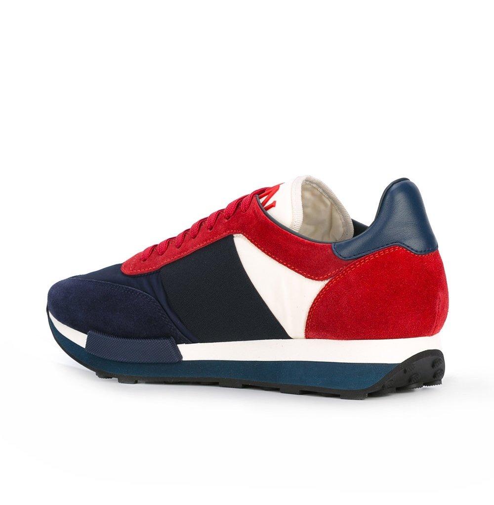 new product ae4c2 0fca6 Moncler Sneakers Scarpe Uomo in Tessuto e Camoscio Modello ...