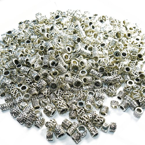 100-x-wholesale-bulk-tibetan-silver-spacer-charms-beads-for-charm-bracelets-jewellery-making-crafts