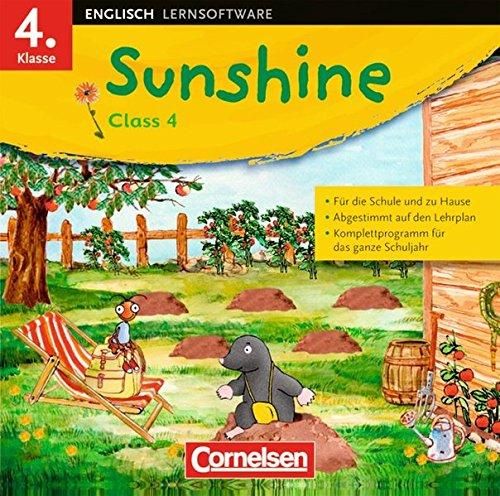 Sunshine - Software zu allen Ausgaben: 4. Schuljahr - CD-Extra: Lernsoftware und Lieder-/Text-CD auf einem Datenträger