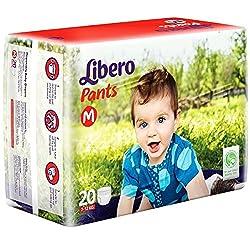 Libero Diaper Pants Medium Size (20 Counts) Pack of 2