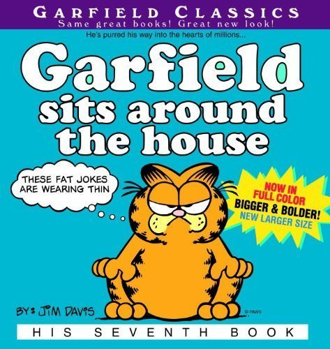 Garfield Sits Around The House (Turtleback School & Library Binding Edition) (Garfield Classics (Pb)) by Jim Davis (2004-02-01) par Jim Davis